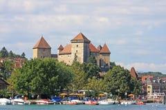 Castello di Annecy, Francia Fotografia Stock