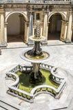 Castello di 600 anni antico in Tomar, Portogallo Fotografia Stock Libera da Diritti