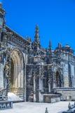 Castello di 600 anni antico in Tomar, Portogallo Fotografia Stock