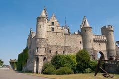 Castello di Anversa Fotografie Stock
