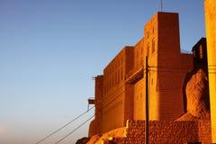 Castello di Arbil Fotografie Stock