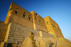Castello di Arbil Immagini Stock