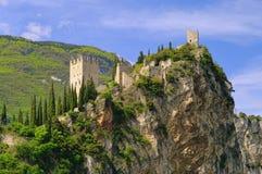 Castello di Arco Fotografie Stock Libere da Diritti