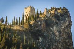 Castello di Arco immagine stock libera da diritti