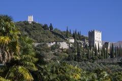 Castello di Arco Stock Image