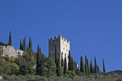 Castello di Arco Royalty Free Stock Photography