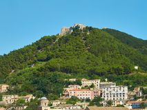 Castello Di Arech στο Σαλέρνο Campania, Ιταλία Στοκ Εικόνα