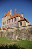 Castello di Avenches Fotografia Stock Libera da Diritti