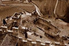 Castello Di Avio Στοκ φωτογραφία με δικαίωμα ελεύθερης χρήσης
