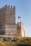 Castello di Ayasoluk in Selcuk vicino a Ephesus in tacchino fotografia stock libera da diritti