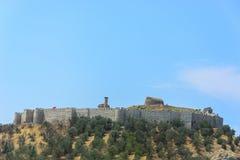 Castello di Ayasuluk sulla collina di Ayasuluk, Selcuk, Turchia Fotografia Stock Libera da Diritti