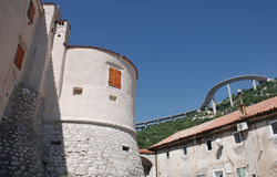 Castello 2 di Bakar immagine stock