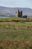 Castello di Ballycarberry, Cahersiveen, contea Kerry immagini stock libere da diritti