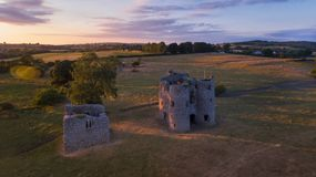 Castello di Ballyloughan Bagenalstown contea Carlow l'irlanda fotografia stock libera da diritti