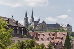Castello di Bamberga Fotografie Stock