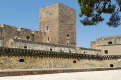 Castello di Bari Apulia italy arkivfoton