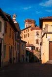 Castello di Barolo stockbild