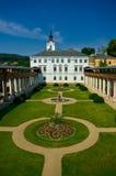Castello di baroque di Lysice. Fotografie Stock Libere da Diritti