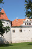 Castello di Bauska in Lettonia fotografie stock libere da diritti