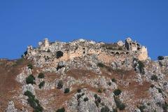 Castello di Beaufort, Libano Immagine Stock