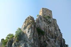 Castello di Beckov Immagini Stock Libere da Diritti