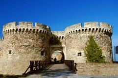 Castello di Belgrado fotografia stock