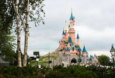 Castello di bella addormentata di Parigi. Fotografia Stock Libera da Diritti