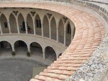 Castello di Bellver Fotografia Stock