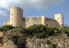 Castello di Bellver Fotografie Stock Libere da Diritti