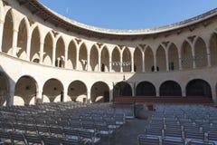 Castello di Bellver, Palma de Mallorca immagini stock libere da diritti