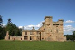 Castello di Belsay fotografia stock libera da diritti