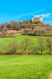 Castello di belvoir in Francia Immagini Stock