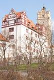 Castello di bernburg immagine stock libera da diritti