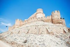 Castello di Biar immagine stock