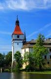 Castello di Blatna fotografia stock libera da diritti