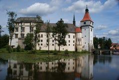 Castello di Blatna vicino a Pisek Fotografie Stock