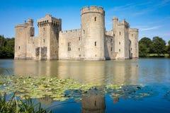 Castello di Bodiam Immagini Stock Libere da Diritti