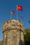 Castello di Bodrum Fotografie Stock