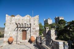 Castello di Bodrum Fotografia Stock
