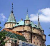 Castello di Bojnice Fotografia Stock