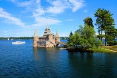 Castello di Boldt, uno Stato di New York di mille isole, U.S.A. immagini stock