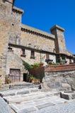 Castello di Bolsena. Il Lazio. L'Italia. Fotografia Stock Libera da Diritti