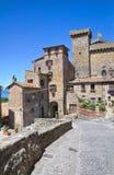 Castello di Bolsena. Il Lazio. L'Italia. Immagini Stock Libere da Diritti
