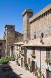 Castello di Bolsena. Il Lazio. L'Italia. Fotografia Stock