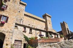 Castello di Bolsena. Il Lazio. L'Italia. Fotografie Stock Libere da Diritti