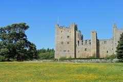 Castello di Bolton, Wesleydale. Fotografie Stock Libere da Diritti