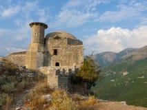 Castello di Borsh Immagine Stock