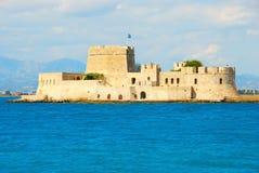 Castello di Bourtzi, Grecia Fotografie Stock