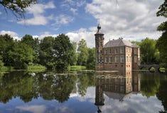 Castello di Bouvigne vicino a Breda fotografia stock libera da diritti