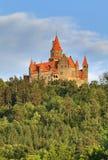 Castello di Bouzov fotografia stock